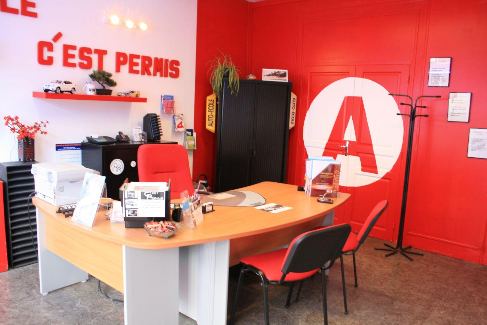 Notre bureau d' accueil