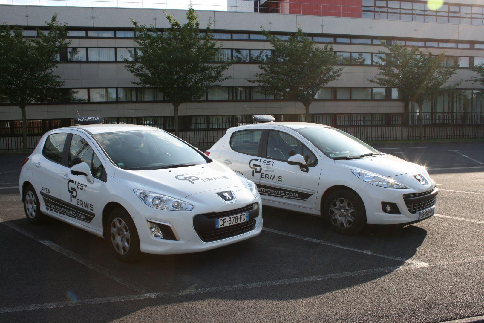 nos véhicules de formation à la conduite